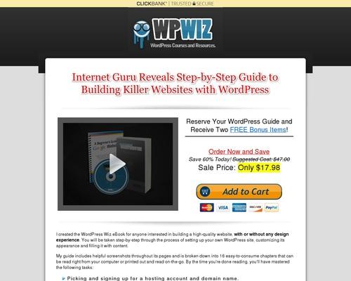 Build Websites Like a WordPress Wiz Ebook – WP Wiz