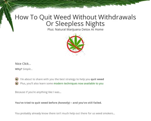 Quit Weed | Quit Weed With Tristan Weatherburn