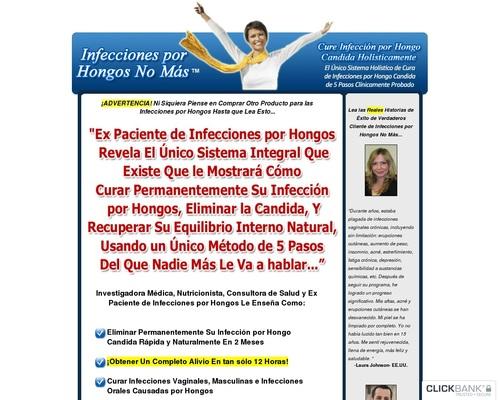 Infecciones por Hongos No Más – Cura Infección por Hongo Candida Holísticamente